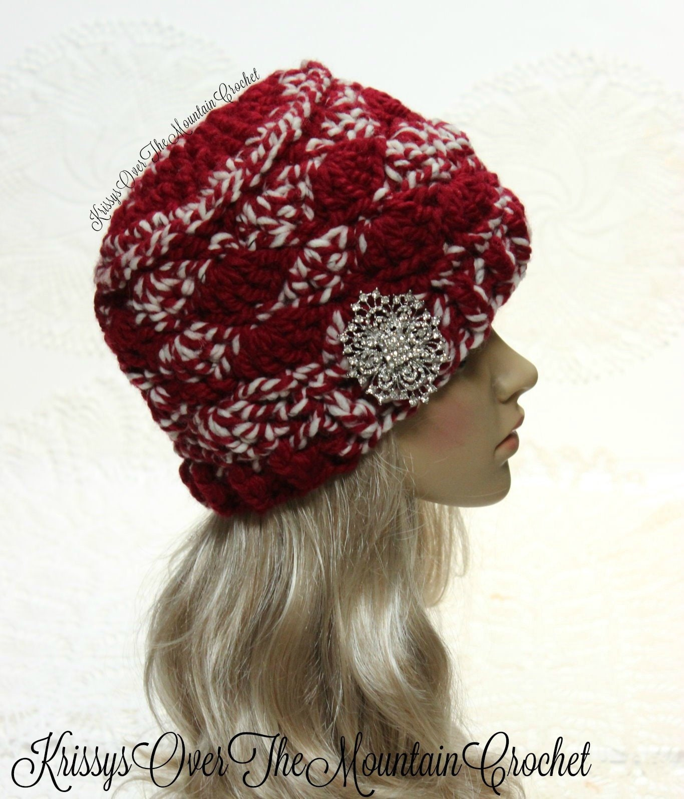 Crochet Hat Pattern Chunky Beanie Quick And Easy Toque Etsy