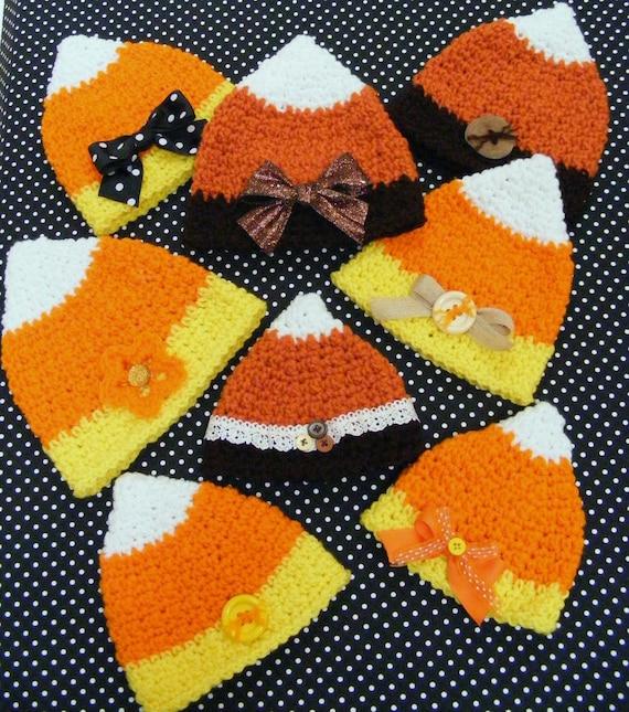 Crochet Hat Patterns  Candy Corn Pattern Baby  Infant
