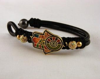 Hamsa / Hand of Fatima Bracelet