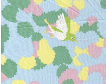 HALF YARD Yuwa - Cortori by Anyan - Sunny Pastel Colorway 312735-E - Cotorienne Japanese Fabric