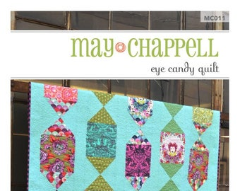 EYE CANDY Quilt by May Chappell - Paper Pattern - MC011