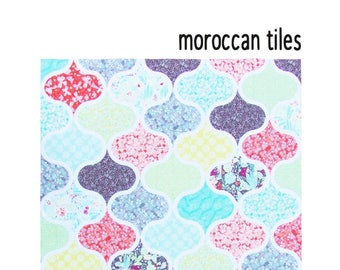 Moroccan Tiles Quilt by Flying Parrot Quilts - Paper Pattern - FPQ010
