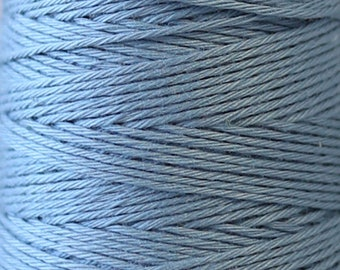 COSMO Hidamari Sashiko Thread #1 Russian Blue - 100% cotton - 30 meter (32.8 yds) skein - Hand Quilting Stitching- Lecien Japanese Imported