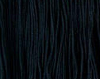 Daruma - Yokota Sashiko Thread #20 BLACK - Fine Thread - Gold Label - 100% cotton 40 meter skein - Hand Quilting Stitching- Japanese Import