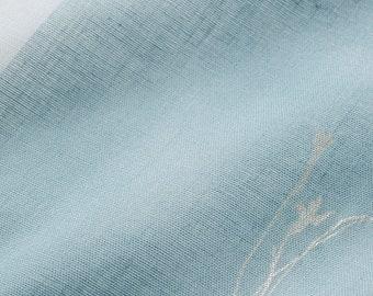 HALF YARD Kokka - Nani Iro 2019 - Temps - Single Gauze - Blue 10830-1C - Japanese