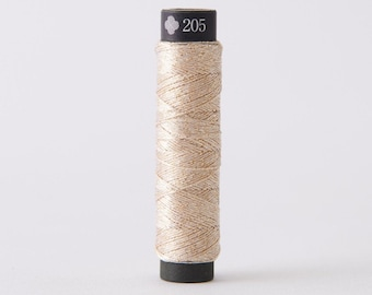 Cosmo - Nishikiito Metallic Embroidery Thread Champagne - Sunago Color 78-205 - Japanese Import