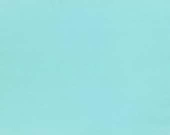 HALF YARD Lecien - 6010L-6020 Aqua - 1000 Color Solids  - Japanese Import Fabric