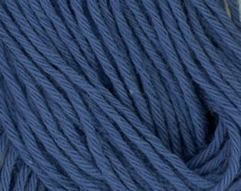 Sashiko Thread #10 COBALT BLUE - 100% cotton - 20 meter (22 yd) skein - Hand Quilting and Stitching- Japanese Imported