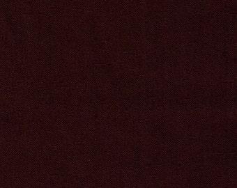HALF YARD Kokka - Echino Solid Brown JG-95410-10F - Japanese Import Fabric Solids