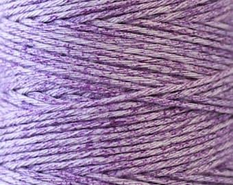 COSMO Hidamari Sashiko Variegated Thread #204 Melange Violet Field - 100% cotton - 30m (32.8 yds) skein - Hand Quilting Stitching - Lecien