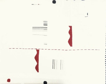 HALF YARD Yuwa - Quilt  JZ822327-B Yoshiko Jinzenji - Cotton Sheeting - Low Volume Print - Japanese Import Fabric