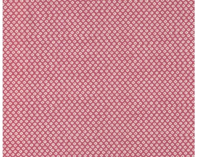 HALF YARD Kanoko on PINK - Traditional Japanese design -  Shibori Cosmo Textile Japanese Fabric