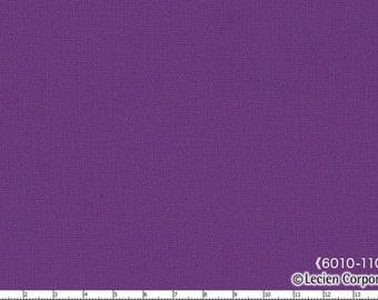HALF YARD Lecien - 6010L-11006 Violet - 1000 Color Solids  - Japanese Import Fabric