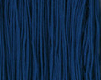 Daruma Yokota Sashiko Thread #6 NAVY - Light Sport Solid Color - Red Label - 100% cotton 100 meter skein - Japanese Hand Quilting Stitching