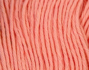 Sashiko Thread #4 PEACH - 100% cotton - 20 meter (22 yd) skein - Hand Quilting and Stitching- Japanese Imported