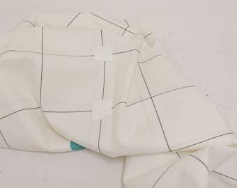 HALF YARD Yuwa - Checkerboard by Yoshiko Jinzenji JZ822328-E - Cotton Shirting - Low Volume Print - Japanese Import Fabric