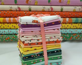 FAT Eighth Bundle - Trixie Collection by Heather Ross - 21 Pieces - Windham Fabrics