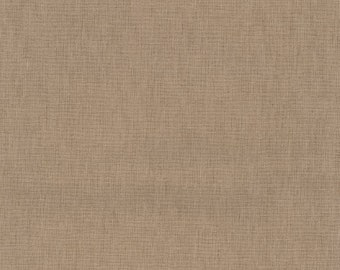 HALF YARD Kokka -Tayutou Solid Neutral Stone - JG-50810-10M- 45 Cotton 55 Linen Lightweight Canvas - Japanese Import Fabric Solids