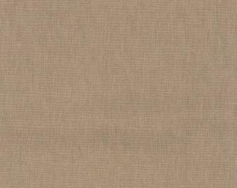HALF YARD Kokka -Tayutou Solid Neutral Stone - JG-50810-10M- 45 Cotton 55 Linen Lightweight Canvas - Japanese Import Fabric Solids