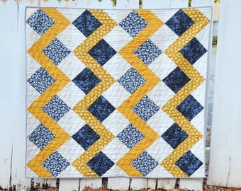 HALFSIES - STRIKE Quilt by May Chappell - Paper Pattern - MC034