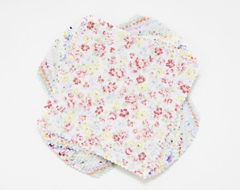 """5"""" Charm Pack - Lecien - Flower Fields Collection- 42 Pieces - Japanese Imported"""