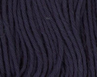 Sashiko Thread #11 NAVY BLUE - 100% cotton - 20 meter (22 yd) skein - Hand Quilting and Stitching- Japanese Imported
