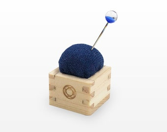 Cohana - Blue - Pin Cushion of Mini Masu- Japanese Import