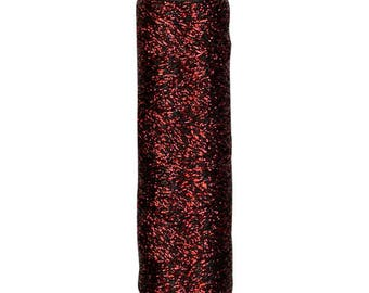 Cosmo - Shabon-Dama RED Metallic Embroidery Floss 6 Strand - 78-15 - Cupro/Polyester - Japanese Import