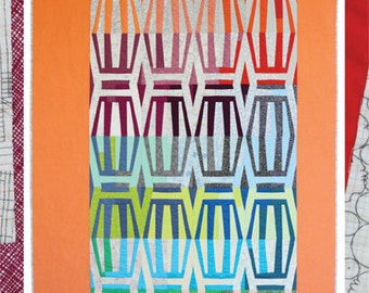 Stripes Quilt Pattern by Carolyn Friedlander