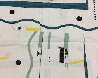 HALF YARD Yuwa - Quilt  JZ442685-A Yoshiko Jinzenji - 100% Linen - Low Volume Print - Japanese Import Fabric