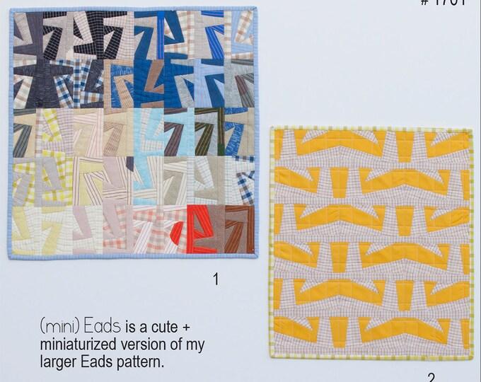 Mini Eads Quilt Pattern by Carolyn Friedlander #1701