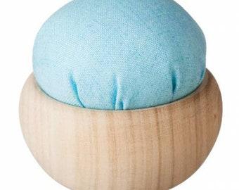 TULIP - Pincushion - Sora-Iro - Hand Quilting and Stitching- Japanese Imported - Hiroshima Japan