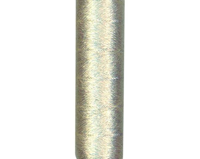 Cosmo - Shabon-Dama WHITE Metallic Embroidery Floss 6 Strand - 78-01 - Japanese Import
