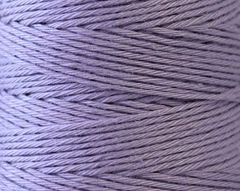 COSMO Hidamari Sashiko Thread #19 LAVENDER - 100% cotton - 30 meter (32.8 yds) skein - Hand Quilting Stitching - Lecien Japanese Imported