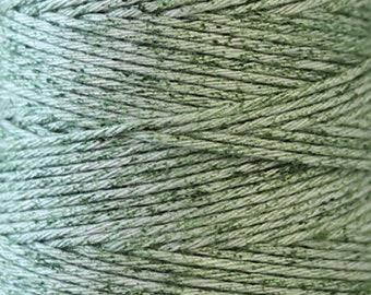 COSMO Hidamari Sashiko Variegated Thread #202 Melange Mojito Green - 100% cotton - 30m(32.8 yds) skein -Quilting Stitching Lecien