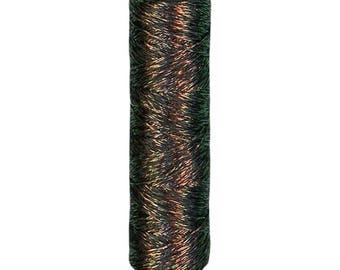 Cosmo - Shabon-Dama Iridescent Black Metallic Embroidery Floss 6 Strand - 78-12 - Japanese Import