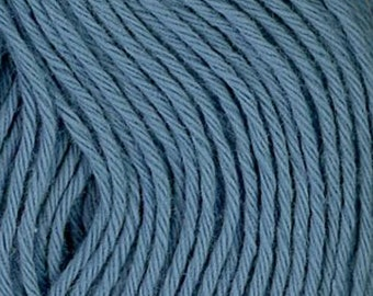 Sashiko Thread #9 SKY BLUE - 100% cotton - 20 meter (22 yd) skein - Hand Quilting and Stitching- Japanese Imported