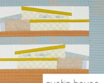Austin House #1117 Quilt Pattern - Carolyn Friedlander Pattern