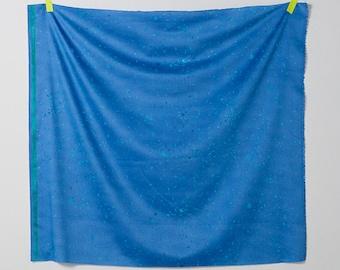 HALF YARD Kokka - Nani Iro - Mercy - Blue Colorway - 10701 1B - Cotton Sateen - Japanese