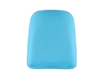 Cord Stopper - Turquoise Colorway 15 mm - Made in Germany - Washable and Dry Cleanable