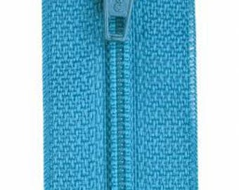 Coats & Clark - All-Purpose Polyester Coil Zipper - PARAKEET - Choose length 12-20 inches