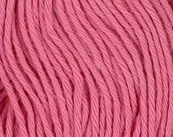 Sashiko Thread #13 ROSE PINK - 100% cotton - 20 meter (22 yd) skein - Hand Quilting and Stitching- Japanese Imported