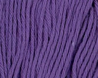 Sashiko Thread #19 PURPLE - 100% cotton - 20 meter (22 yd) skein - Hand Quilting and Stitching- Japanese Imported