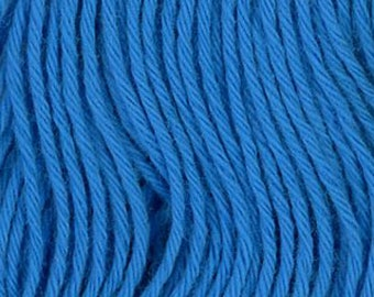 Sashiko Thread #27 BLUE - 100% cotton - 20 meter (22 yd) skein - Hand Quilting and Stitching- Japanese Imported