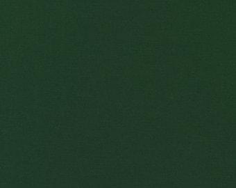 HALF YARD - Kona Cotton Solid - FOREST - Robert Kaufman
