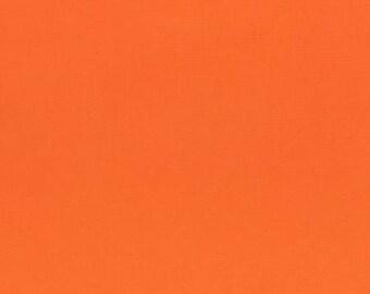 HALF YARD Lecien - 6010L-4006 Cantaloupe - 1000 Color Solids  - Japanese Import Fabric