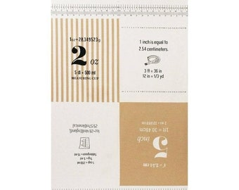 Sale PANEL Lecien - Cotton Style - Measurements in Beige 40757-10 - Numbers, Text, Ruler, Metric - Canvas - Japanese Import