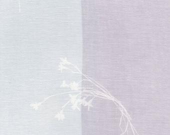 HALF YARD Kokka - Nani Iro 2019 - Temps - Single Gauze - Lavender 10830-1A - Japanese