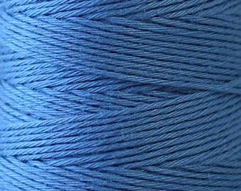 COSMO Hidamari Sashiko Thread #11 CORNFLOWER - 100% cotton - 30 meter (32.8 yds) skein -Hand Quilting Stitching - Lecien Japanese Imported