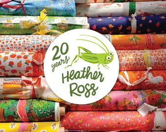 FAT QUARTER Bundle - 21 Pieces - 20th Anniversary Collection by Heather Ross - Windham Fabrics